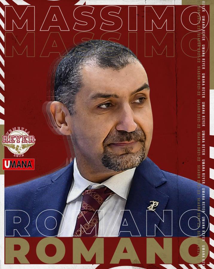 Massimo Romano nuovo head coach dell'Umana Reyer femminile